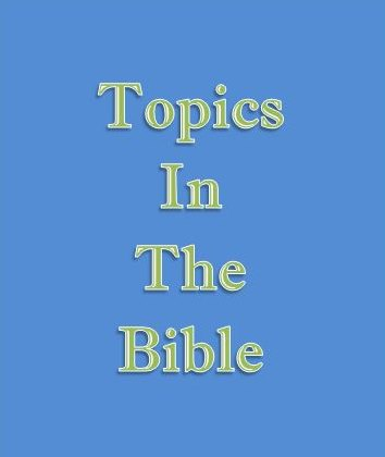 Topics of the Bible - The Church at Asheville