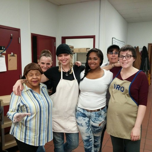 Volunteers at Veteran's Restoration Quarters - Filtering Our Blessings to the Asheville Homeless - Tess Williams - Local Ministry - The Church at Asheville