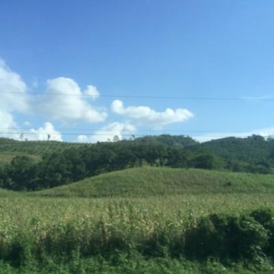 Honduras countryside