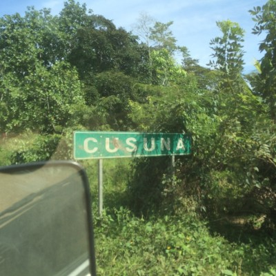 Arriving in Cusuna