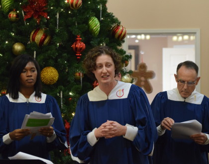 Christmas Singing at Bella Vista - Dec. 9, 2017