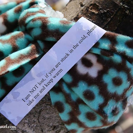 I am not lost scarf - Filtering Our Blessings to the Asheville Homeless - Tess Williams - Local Ministry