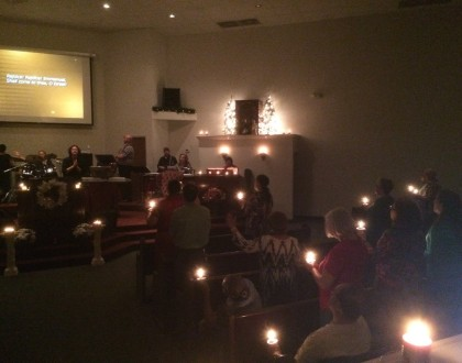 Christmas Eve Candlelight Service - 2017