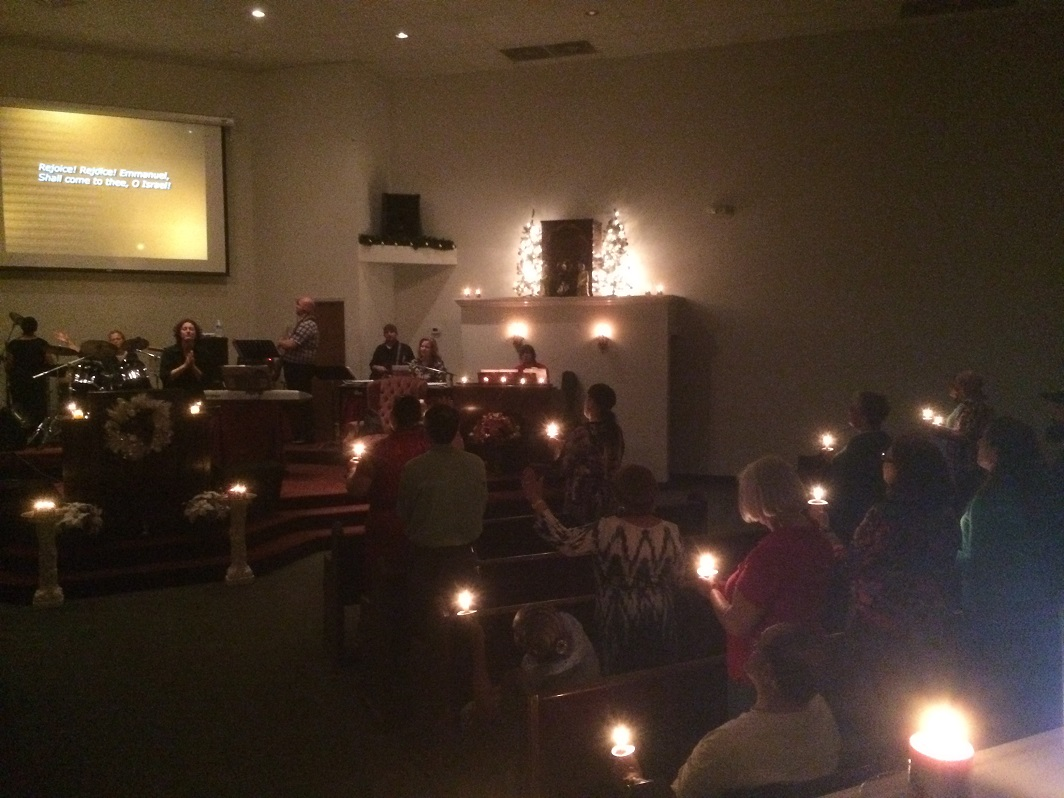Christmas Evening Candlelight Service