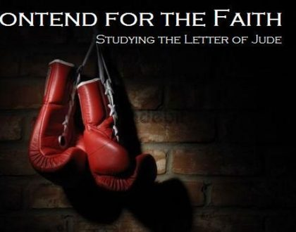 Jude – The Urgency of Believers